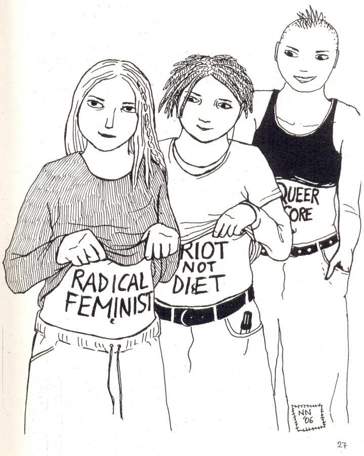 radical feminist  u2013 riot not diet  u2013 queer core