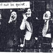 not be quiet