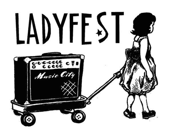 Musik Logo Ladyfest Musik City