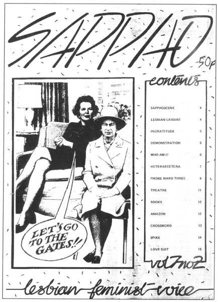 Sappho (Magazine, 1972- 1981) | grassrootsfeminism.net